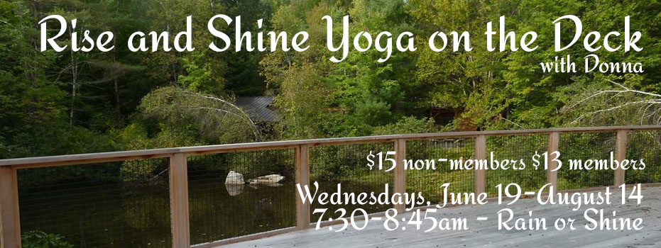 Outdoor Yoga in Central NH